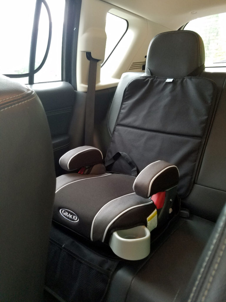 Review: Neat Parents Reversible Car Seat Protector | KnitHacker