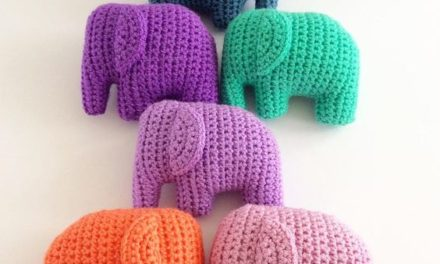 These Elephants … So Cute … I Can't … You Won't Be Able to Crochet Just One …