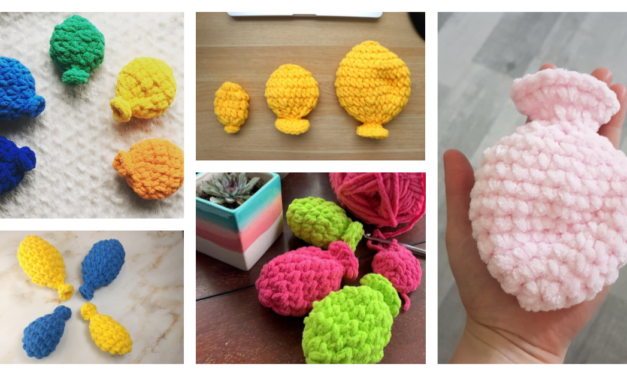 UPDATED! Crochet Water Balloon Patterns … You Can Have Fun AND Make a Better Choice For The Environment