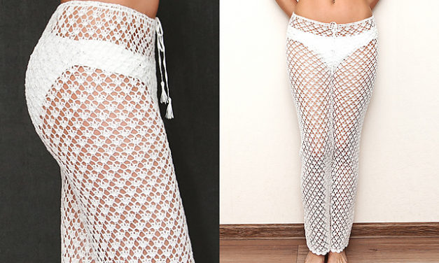 Looks Like Lacy Pants Are Here To Stay – Save Money, Crochet Your Own