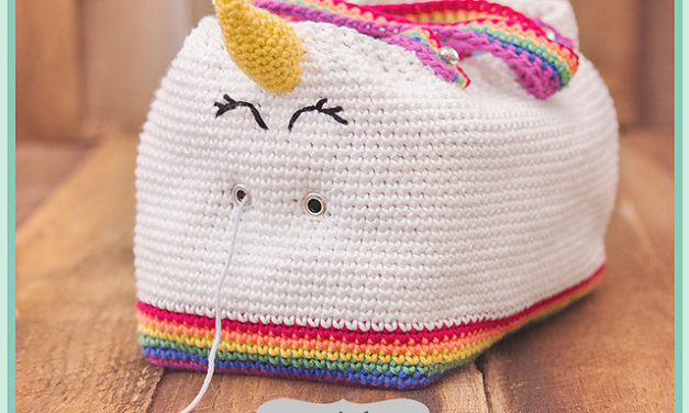 "Finn's Pick: ""Unicorn Farts Bag"" by Briana K Designs – Get the Crochet Pattern!"