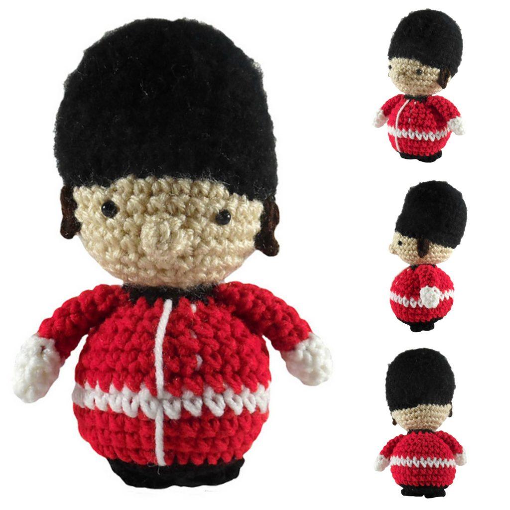 Crochet a British Royal Guard Amigurumi - FREE Pattern!