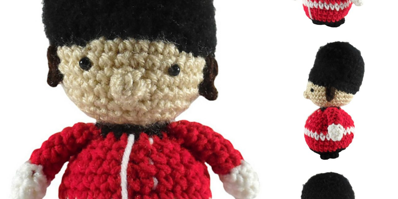 Crochet a British Royal Guard Amigurumi – FREE Pattern!
