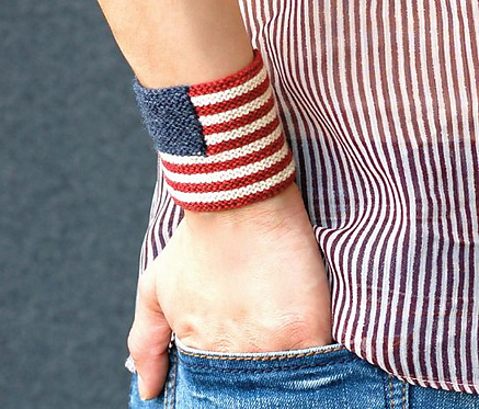 Two Free Patterns To Mark Flag Day in the USA - One Knit, One Crochet!