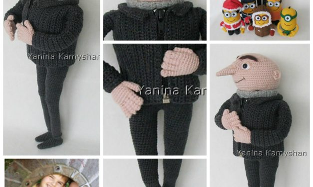 Finn's Pick: Crochet This Mr. G Amigurumi … Pattern Inspired by Gru from Despicable Me!