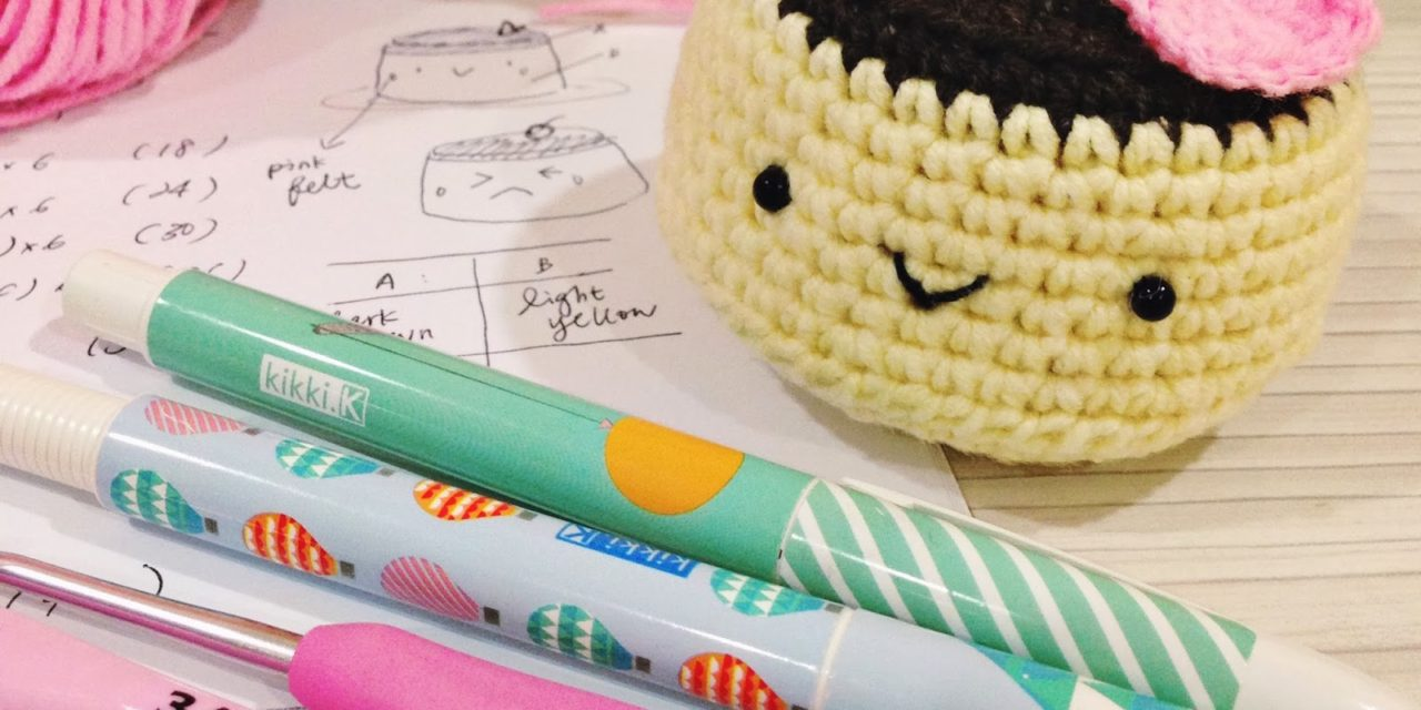 Hey, It's Chocolate Pudding Day! Crochet an Amigurumi to Celebrate … FREE Tutorial!
