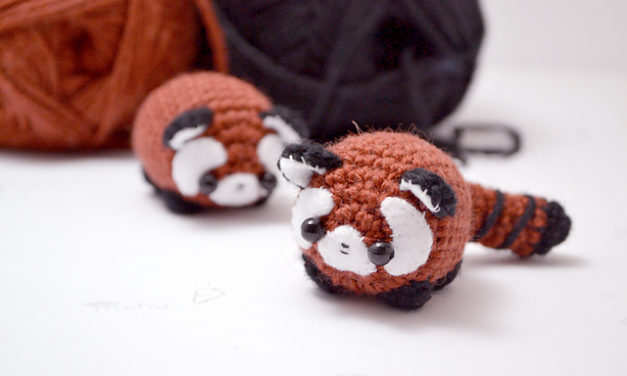 Mohu's Red Panda Amigurumi Is Irresistible!