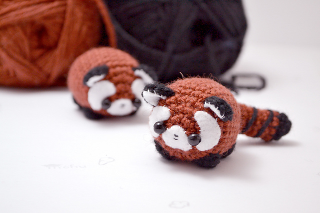 Mohu's Red Panda Amigurumi Are Irresistible … So Get the Pattern!