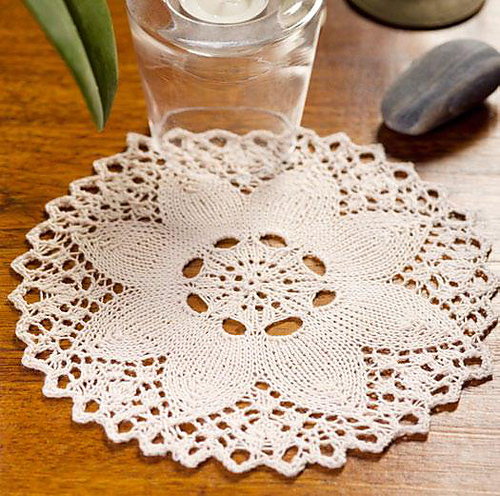 Think You Can't Knit a Doily? Think Again!
