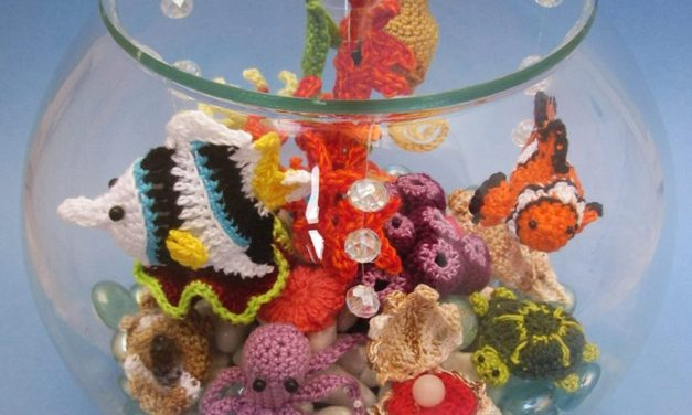 Sure, You've Seen Crochet Aquariums Before … But Not Like This One!