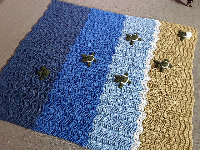 Everyone's Crocheting Baby Sea Turtle Blankets ... Here Are a Few Fun Patterns To Get Started!