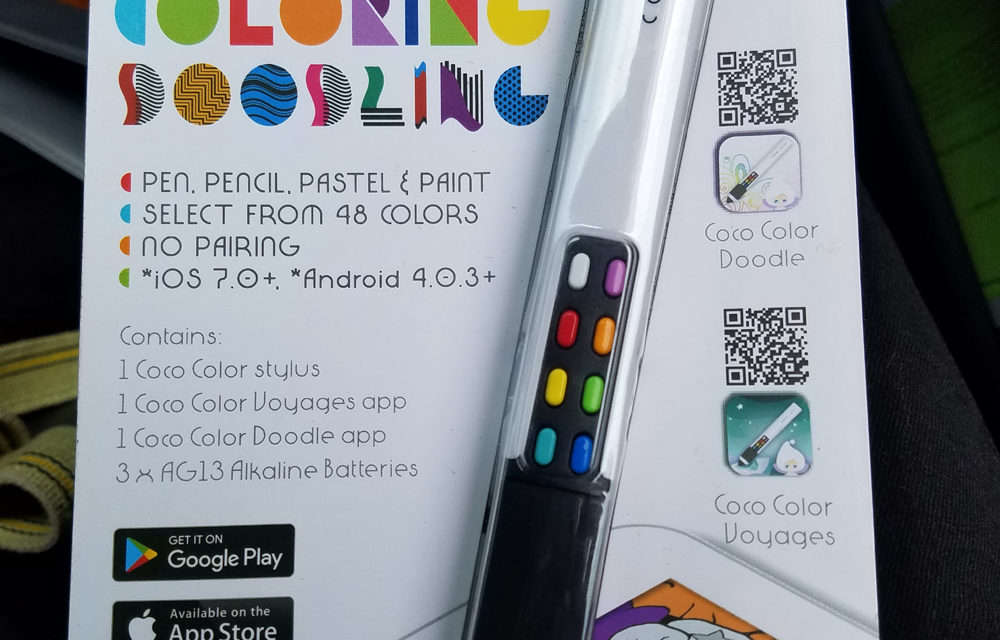 Review: Coco Color Stylus, A Really Cool Remote Coloring Stylus For Mobile Devices