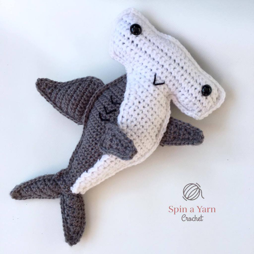 Crochet This Cute Hammerhead Shark Amirugumi - Free Pattern!