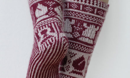 Knit a Pair of Check Mate Fair Isle Socks – It's Hard To Believe This Chess Lover's Pattern is FREE!