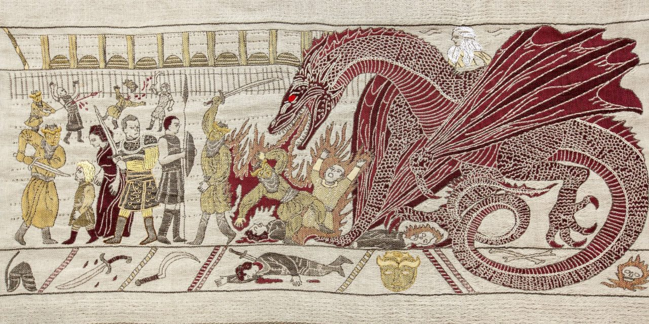 Incredible Interactive 250ft Game of Thrones Tapestry – Relive Every Season, Every Episode, Every Epic Moment …