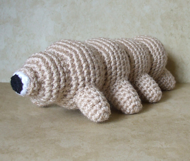 4 Tardigrade Patterns For The End of the World ... This Eight-Legged Wee Beastie Will Outlive Us All