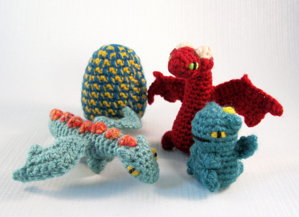 Mini Pet Dragon Hatchlings