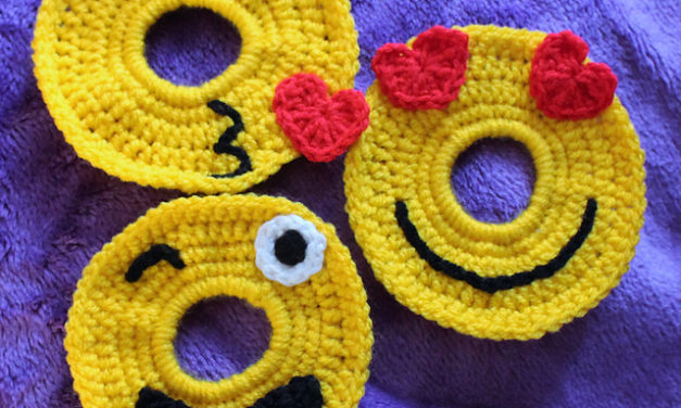 4 Unusual Knit & Crochet Emoji for World Emoji Day