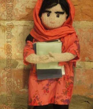 Happy Birthday, Malala Yousafzai! Of Course Someone Knit Her!