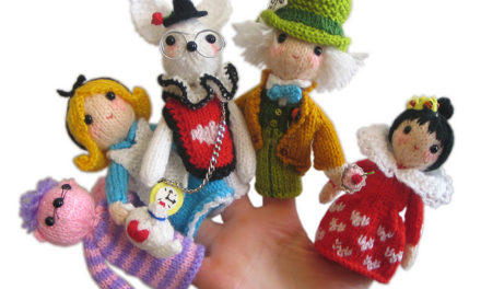 5 Epic Knit & Crochet Patterns to Celebrate Alice in Wonderland Day!