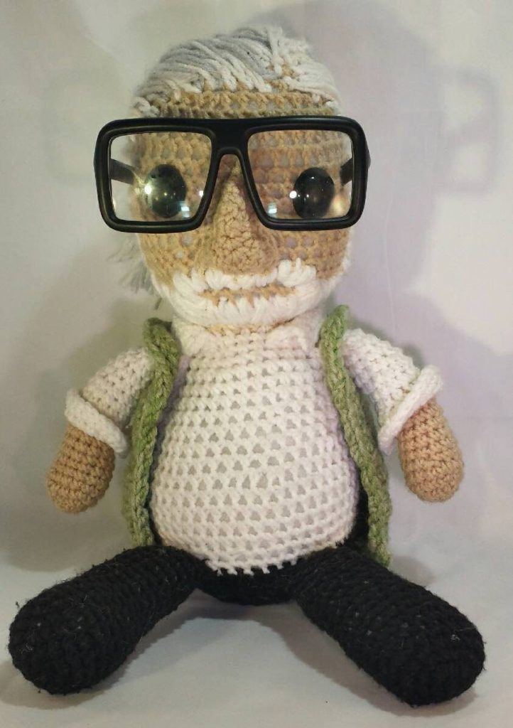 She Crocheted a George Romero Amigurumi - RIP to the Godfather of All Things Zombie