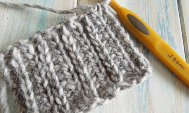 Want To Make Your Crochet Look Like Knitting? Here's How…