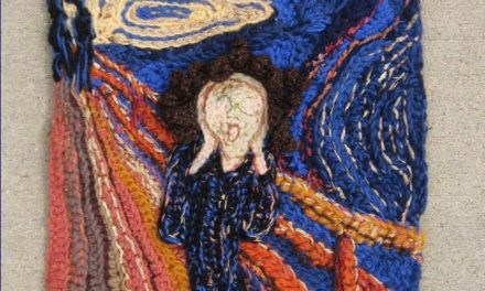 Edvard Munch's Scream – An Interpretation In Crochet By Loren Gaggini