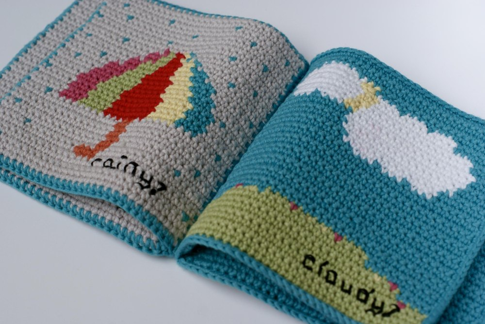 This Crochet Baby Book is a Brilliant Way to Teach About the Weather