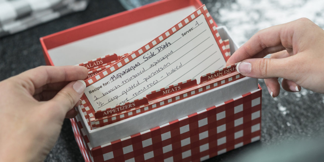 Giveaway: Enter For a Chance To Win This Charming Red Recipe Box Holder – Holds Up To 100 of Your Favorite Recipes!
