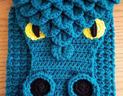 Crochet a Dragon Cross-Body Bag – Perfect For Game of Thrones Fans!