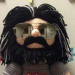She Crocheted a Jerry Garcia Amigurumi For Family Friend Who's a Deadhead!
