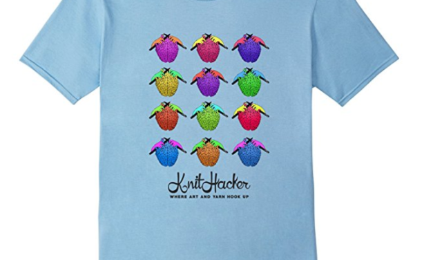 Knitting Does The Brain Good T-Shirt – So Colorful!
