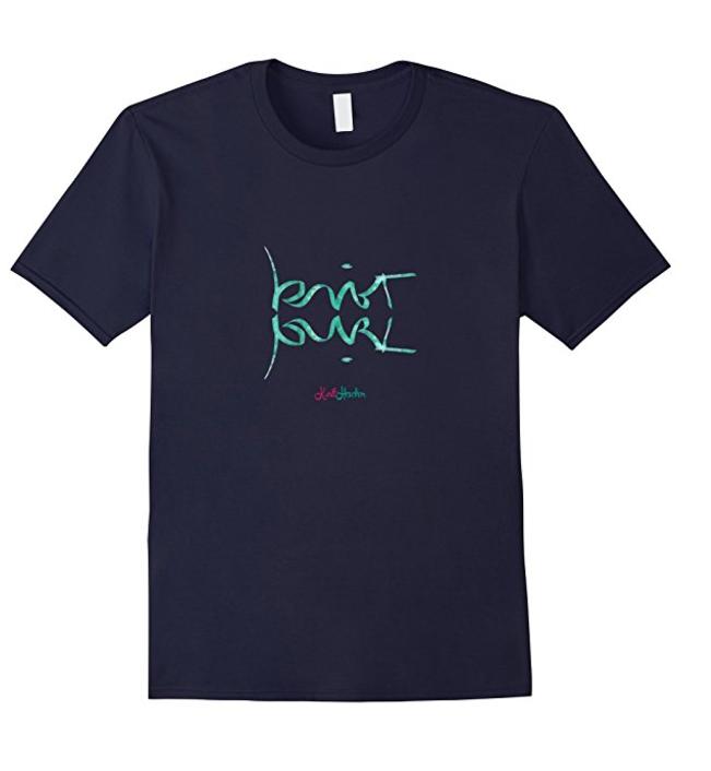 Knit Purl Ambigram T-Shirt