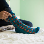 Finn's Pick: Fun Knitted Fox Sox With a Terrific Two-Tone Sole