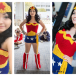 Fun Cosplayer Fangirl Physics Knits a Wonder Woman Costume!