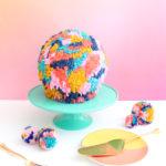 She Made a Cake That Looks Like a Pom-Pom!