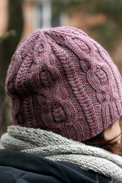 Knit a Beautiful Cabled Beanie for Fall - The Pattern is FREE!