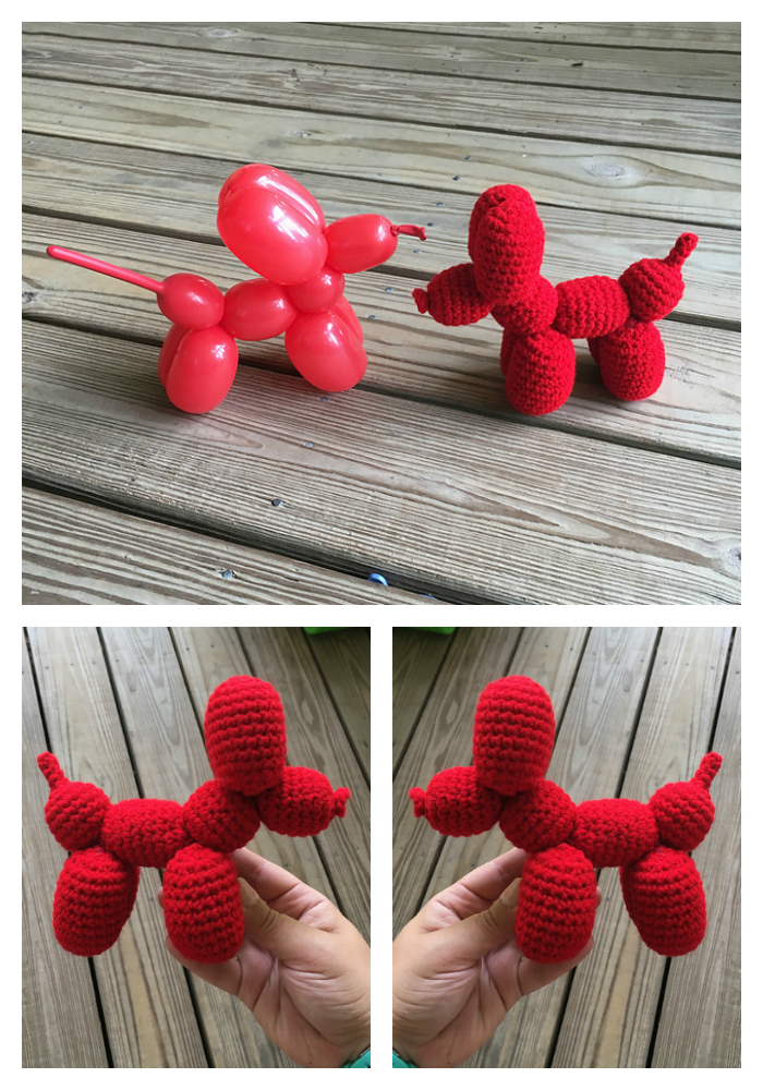 Crochet This Fun Balloon Dog - a Must-Make for Jeff Koons Fans!