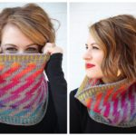 Inspired by David Bowie, No One Can Resist This Ziggy Stardust / Aladdin Sane Cowl Designed by Tanis Gray