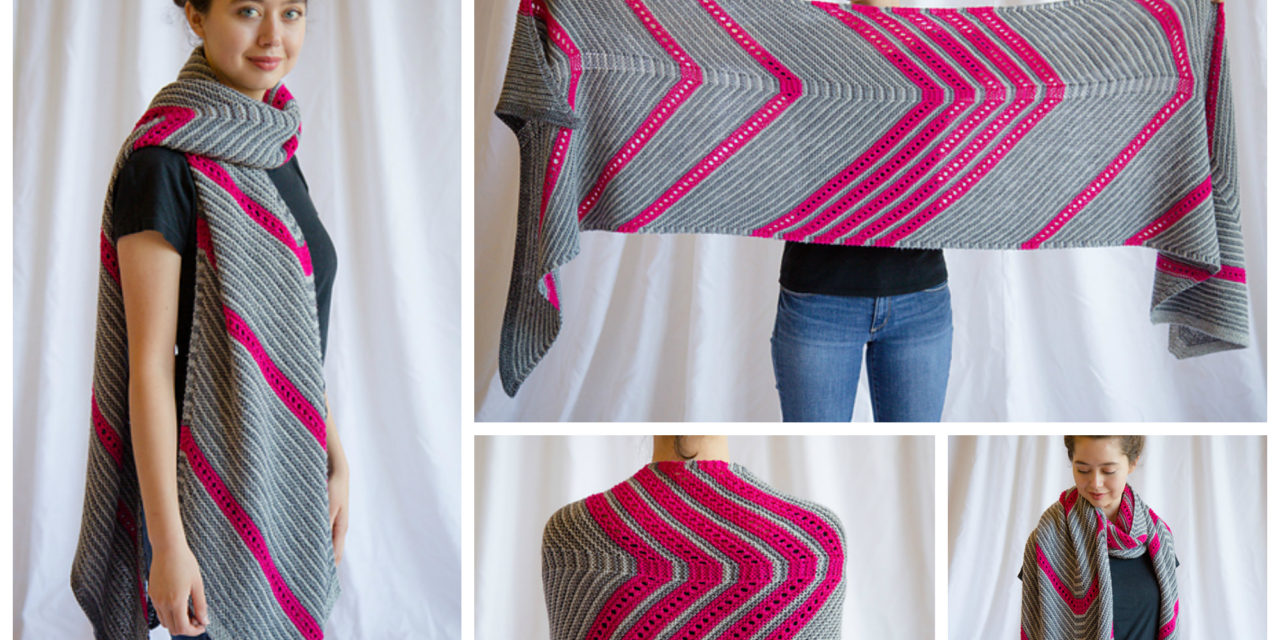 Fun and Oversized! Knit This Unique and Colorful Scarf For the Cooler Days and Nights Ahead