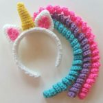 Crochet a Unicorn Mane Headband in Time For Halloween – Yes, Cosplay Can Be This Easy