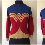 You Can Knit the Greatest Wonder Woman Sweater in the World Thanks To One Superhero