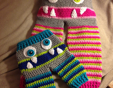 Step Aside Knitters, These Monster Bum Pants for Babies and Toddlers Are For the Crocheters – Finally!