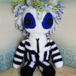 Beetlejuice Inspired Crochet Amigurumi – Love The Hair!