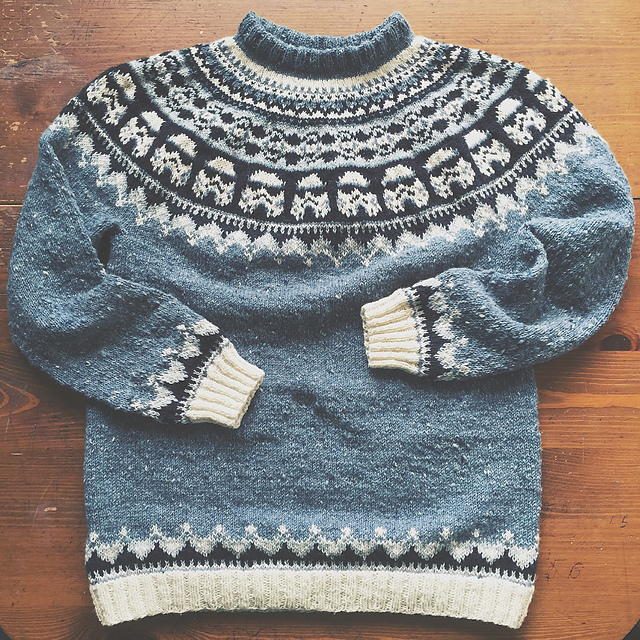 Knit An Amazing Star Wars Ski Sweater Featuring Tiny Stormtroopers