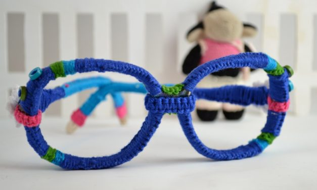 Would You Wear a Pair of Crocheted Eyeglasses?