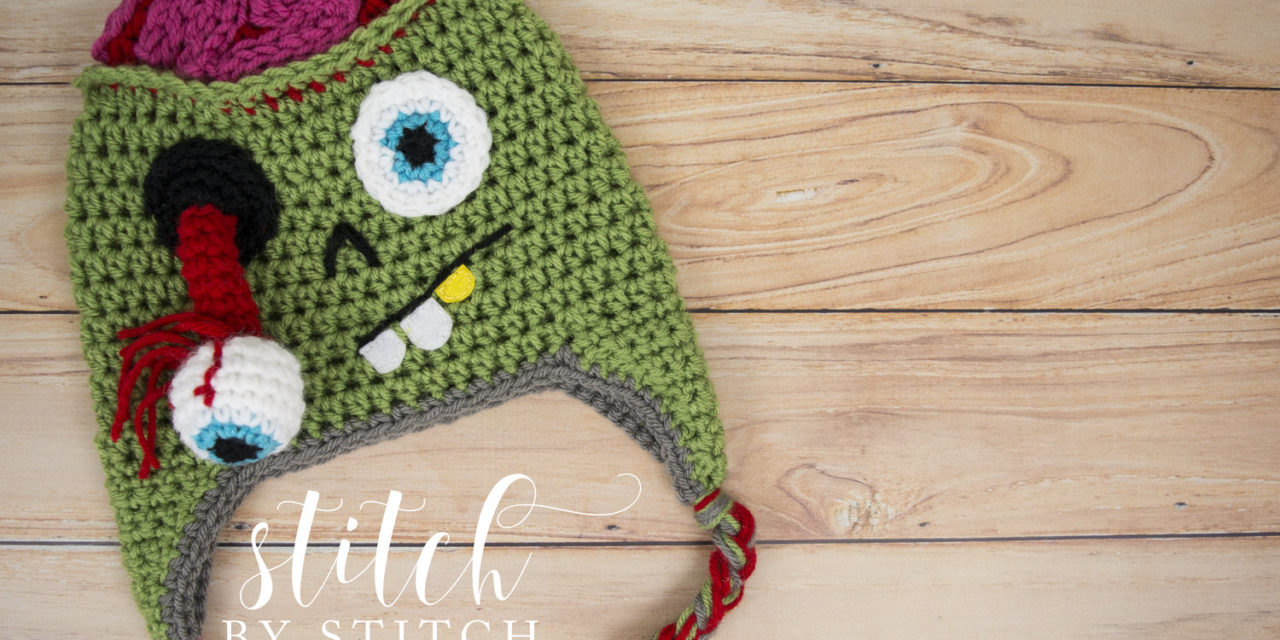 Crochet a Zombie Hat for Halloween With This Pattern … BRAAAAINS!