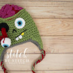Crochet a Zombie Hat for Halloween With This Free Pattern … BRAAAAINS!
