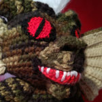 Finn's Pick: Crochet Scary Stripe From the Gremlins, Mohawk Included!