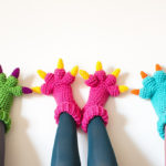 The Best Crochet Monster Feet Slippers — Original Design By Knits For Life — Get The Pattern!